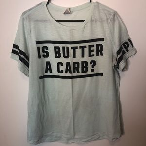 is butter a carb?!